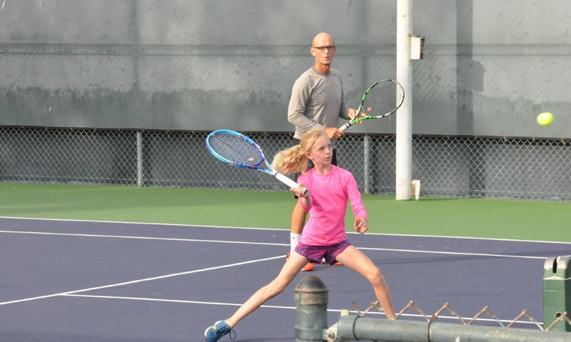 Father Daugther Doubles